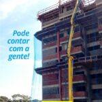 Bombeamento de concreto em prédio(1)