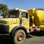Caminhão betoneira de 1986